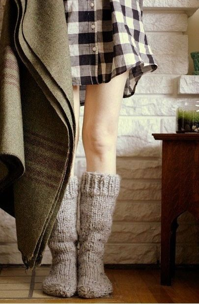 fall-style-cozy-knit-socks